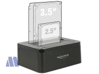 Delock HDD Duo Docking Station USB3.0 Kopierfunktion