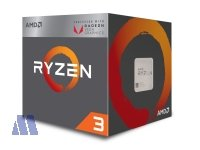 AMD Ryzen 3 2200G 3.5/3.7GHz Box 2MB Quad Core AM4