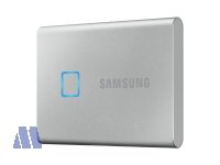 Samsung T7 Touch NVMe SSD extern 500GB USB 3.2 Metallic Silver