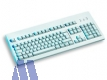 Cherry G80-3000 LPCDE-0 Tastatur, deutsch, PS/2, USB, hellgrau