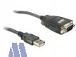 Delock USB / Seriell Adapter 9-pol DSUB, 1.1m, WIN8