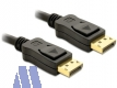 Delock 4K Display Port Kabel St/St 2m