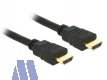 Delock High Speed 4K HDMI mit Ethernet Kabel 3m St/St