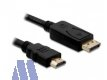 Delock Display Port -> HDMI Kabel St/St 1m