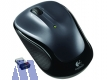 Logitech M325 Wireless Maus USB, grau