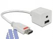 Delock Adapter Display Port Stecker 1.2 -> mini DisplayPort/DisplayPort Buchse