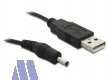 Delock USB Powerkabel 1.5m DC 3.5 x 1.35mm Stecker