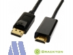 Brackton 4K Display Port 1.2 -> HDMI Kabel St/St 2.0m, aktiv
