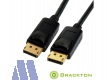 Brackton 4K Display Port 1.2 Kabel St/St 2.0m