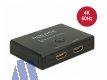 Delock 2-fach HDMI Switch bidirektional 4K 60 Hz
