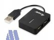 equip life USB2.0 Travel Hub 4 Port