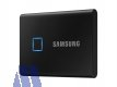 Samsung T7 Touch NVMe SSD extern 500GB USB 3.2 Metallic Black