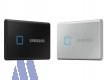 Samsung T7 Touch NVMe SSD extern 2TB USB 3.2 Metallic Silver